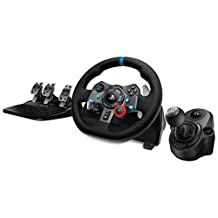 Logitech G29 Driving Force Race Wheel + Logitech G Driving Force Shifter Bundle (Certified Refurbished)