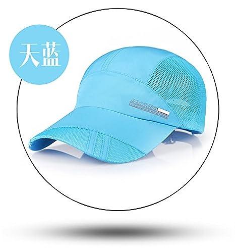 Desconocido Gorra de béisbol para Hombre, Color Azul, Talla M, con ...