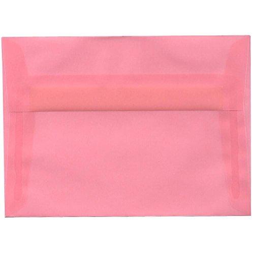Blush Vellum (JAM Paper A7 Invitation Envelope - 5 1/4