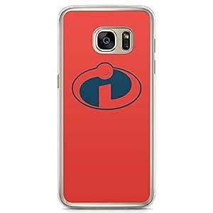 Loud Universe Minimal Logo Cartoon Samsung S7 Case Minimalist Samsung S7 Cover with Transparent Edges