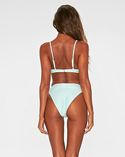 Space Demi Underwire - L*Space LSpace Spearmint Ridin HIGH Ribbed Missy TOP, M