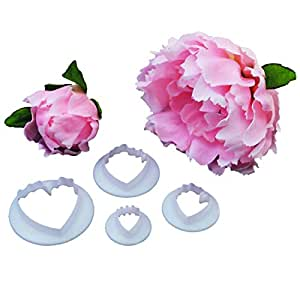 Peony 4 Piece Cutter Set by FMM