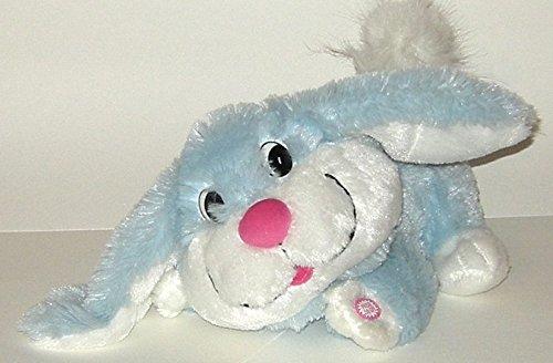 Dandee Singing Animated Peter Cottontail Light Blue Plush Bunny Rabbit ()