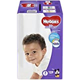 HUGGIES LITTLE MOVERS Diapers, Size 3 (16-28 lb.), 128...