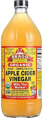 Bragg, Vinagre Organico de Manzana, 946 ml