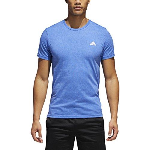 adidas 60/40 Men's T-Shirt (Croyal/Silver, Medium)