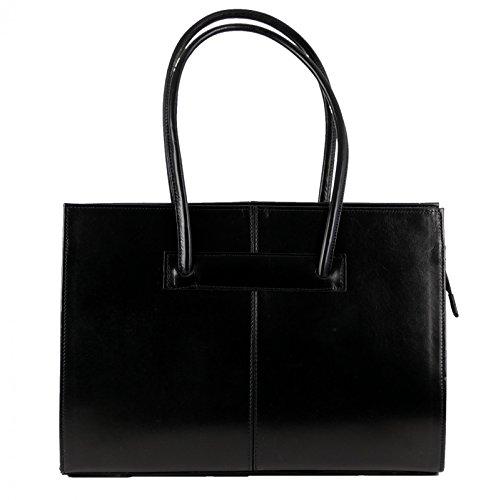 Femme Cuir À Noir En Made Main De Pour Véritable Sac It Italy In FSSqnAB0