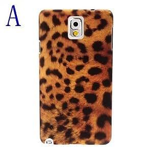 Bkjhkjy Leopard Pattern Plastic Hard Case for Samsung Galaxy Note 3 N9000 , D