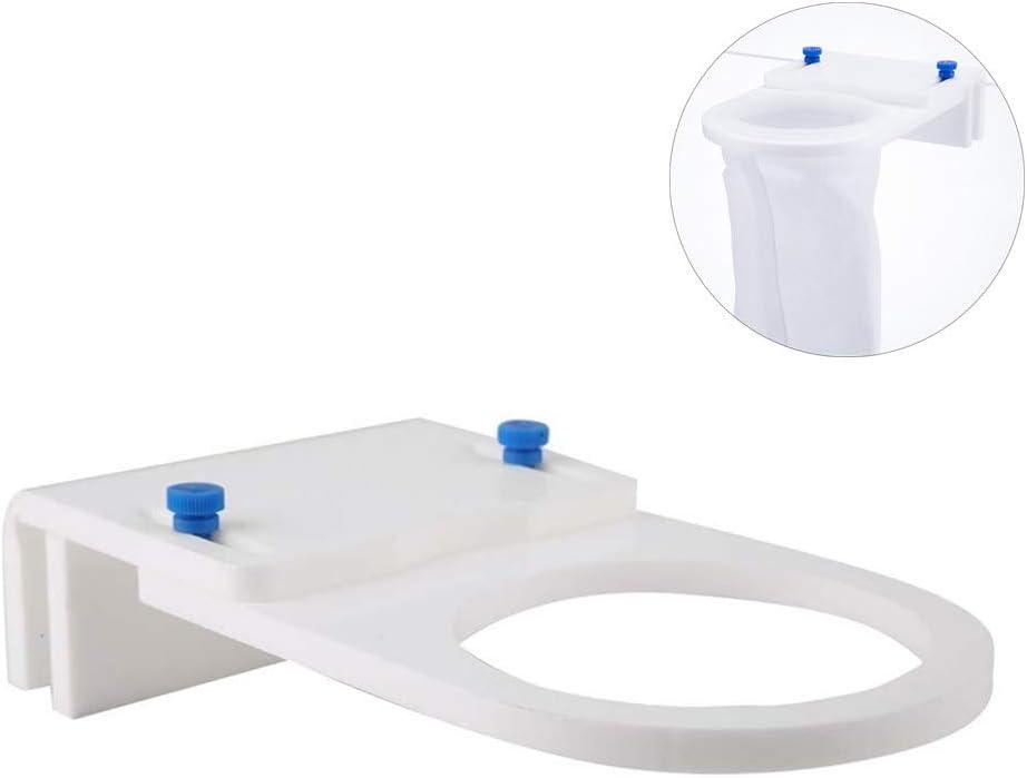 Pangding Calcetines con Filtro de Acuario Tanque de Peces Bolsa de Malla Ligera Filtros de Anillo Calcetines 150um