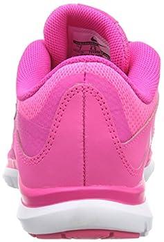 Nike Womens Flex Trainer 5 Running Shoe, Pink Powanthracitepink Foilwhite - 10 B(m) Us 1
