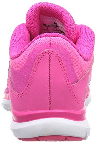 Nike Womens Flex Trainer 5 Scarpa Rosa Potere Antracite Bianco 601