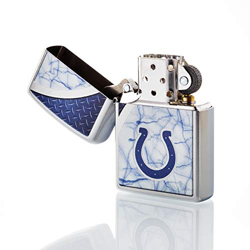 - Zippo NFL Indianapolis Colts Refillable Lighter, White, One Size
