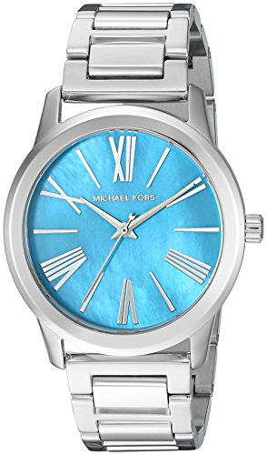 Michael Kors Women's Hartman Silver-Tone Watch MK3519