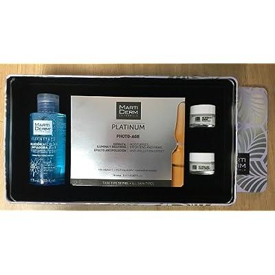 Platinum BOX Martiderm . ( 10amp Photo-age + Solución micelar 75ml + 2 mini tallas Vital-Age )