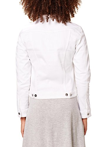 By white Edc Bianco Jeans In Esprit Giacca 100 Donna va0qOdR