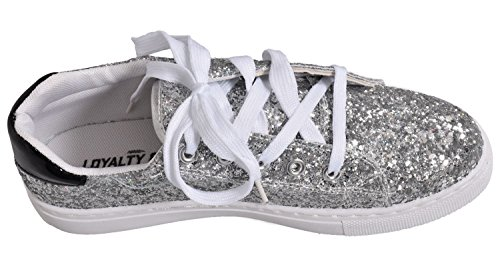 Donna Loyalty Silver Faith Sneaker amp; v8xwfnCTS