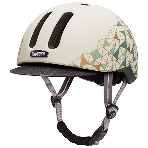 Nutcase - Metroride Bike Helmet for Adults, Geo Net Matte, Large/X-Large