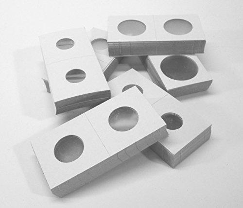 Coin Flip Assortment - Cardboard 2x2 Holders - 25 each of 6 Sizes