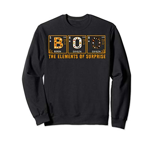 Halloween chemistry | BOO Primary Elements of Surprise Sweatshirt -