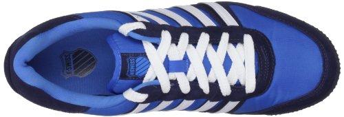 K-Swiss GOWMET II VNZ 02816-085-M - Zapatillas de deporte de cuero para hombre, color azul, talla 44,5 //M