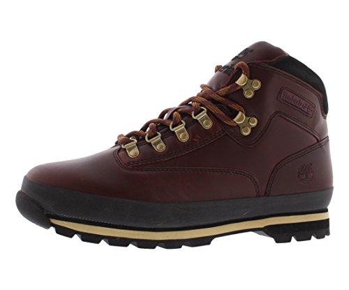 Timberland Eurohiker Boots Burgundy Black