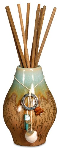 HARMONY TURQUOISE MINI Reed Diffuser Sea Grass Lotus - Pomeroy - San Miguel ()