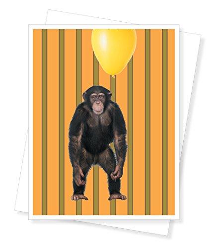 Birthday Monkey, Birthday Greeting Card