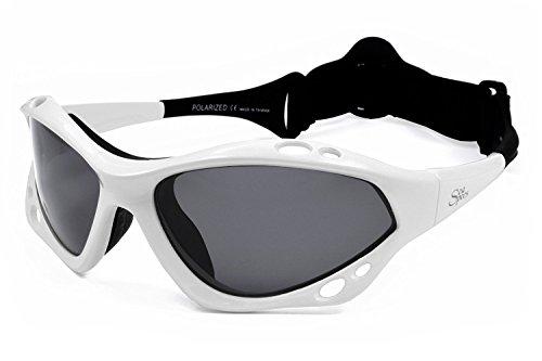Seaspecs White Extreme Sports Sunglasses (Salt Cellar Hours)