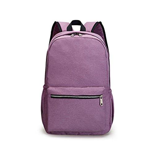 AOTIAN 2177 - Bolso mochila  para mujer rojo C-RED A-PURPLE