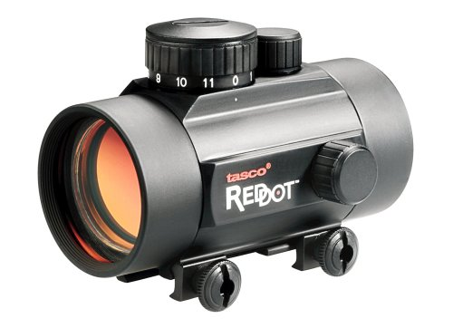 TASCO Red Dot 1 x 42 Matte Red/Green 5 MOA dot