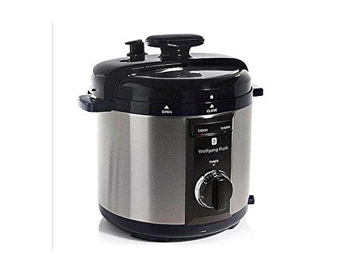 Wolfgang Puck BPCRM800R 8-Quart Rapid Electric Pressure Cooker Black