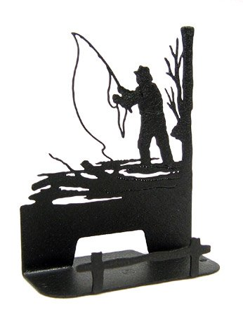 Fly Fishing Business Card Holder -