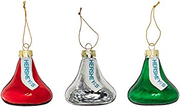 Kurt Adler Hershey Kisses Glass Set