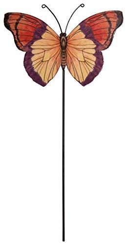 cr-gibson-butterfly-tin-garden-pick-multicolor