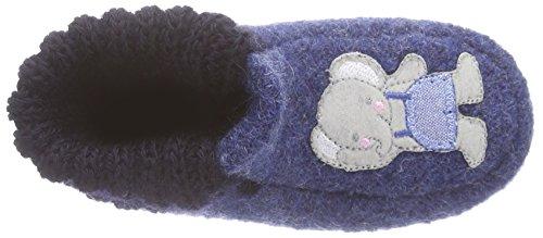 Kitz-Pichler Bastian - pantuflas sin forro de lana Niños^Niñas azul - Blau (jeansblau 1226)