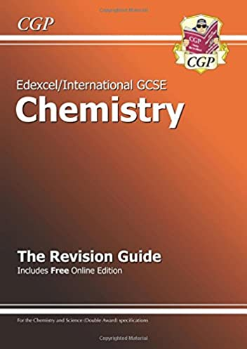 edexcel international gcse chemistry revision guide with online rh amazon com Chemistry Revision Flash Cards edexcel as level chemistry revision guide pdf