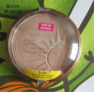 Wet n Wild Coloricon Bronzer with SPF 15, RESERVE YOUR CABANA (Pack of 3) by Wet 'n Wild