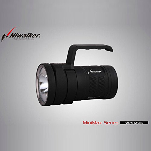 Bazaar CPF Niwalker MiniMax Nova MM15 2x CREE MTG2 5233LM LED Taschenlampe