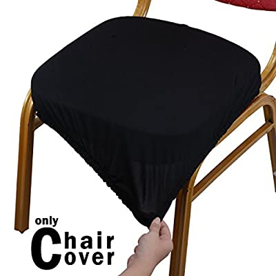Voilamart Chair Seat Covers Stretchable Soft Protectors for Swivel Chair Desk Gaming Chair