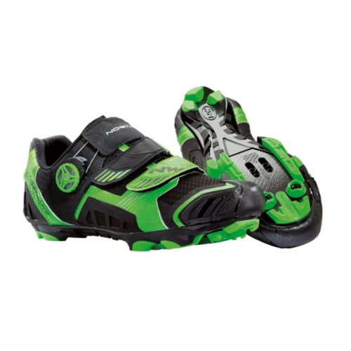 Northwave Nirvana Shoes Black-Green 2015 DDmD0