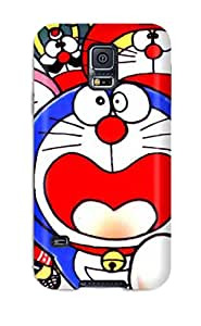 Premium Doraemon Heavy-duty Protection Case For Galaxy S5
