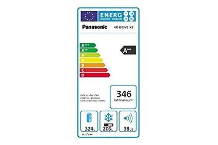 Panasonic NR-B53V2 Independiente 530L A++ Acero inoxidable nevera ...