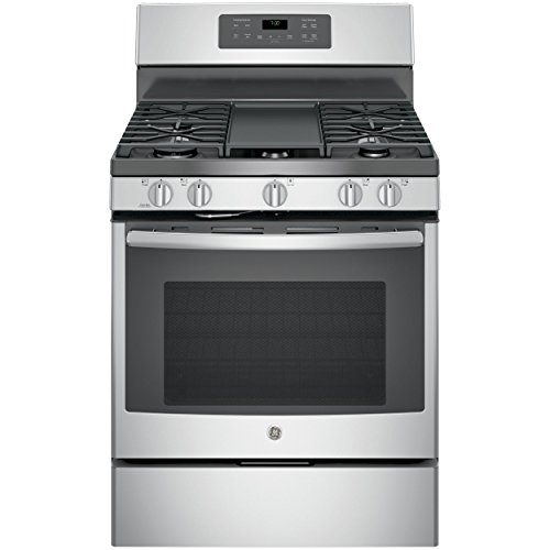 "GE JGB700SEJSS 30"" Stainless Steel Gas Sealed Burner Range - Convection"