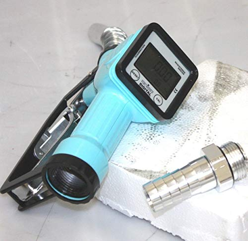 9TRADING Turbine Mechanical Gas Diesel Digital Fuel Nozzle with Accuracy LCD Reading Meter by 9TRADING (Image #5)