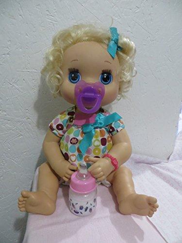 Baby Alive Pacifier + Baby Alive Preemie Bottle 2oz - Ballerina Set - Handmade READ DESCRIPTION (Baby Alive Ballerina)
