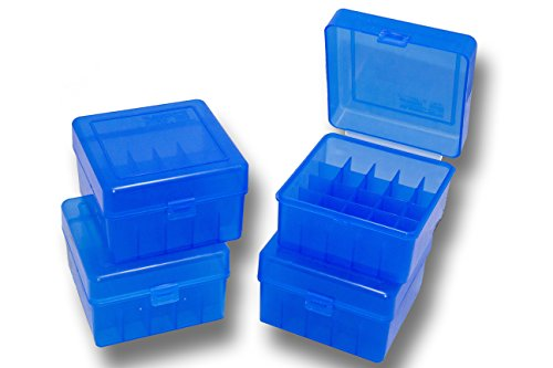 Berry's 4 pack Ammo box 12 gauge 25 round shell holder Ammunition storage case blue