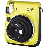 Câmera Instantânea Instax Mini 70, Fujifilm, Amarelo