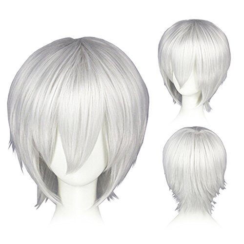 CoolChange perruque de Ken Kaneki de la série Tokyo Ghoul, blanc