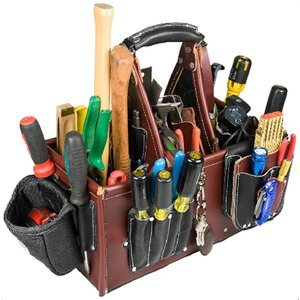 Occidental Leather 5588 Stronghold Master Carpenter Case by Occidental Leather