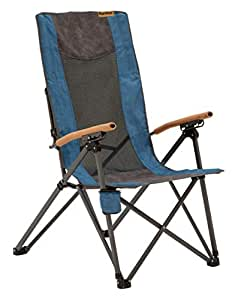 Cool Eureka Highback Recliner Camping Chair One Size Blue Short Links Chair Design For Home Short Linksinfo